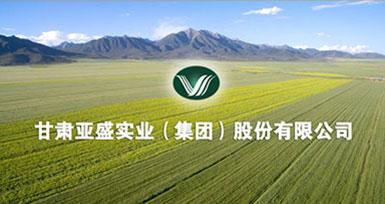 甘肃亚盛实业(集团)股份有限公司
