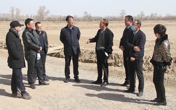 省农垦集团公司总经理韩正明到张掖片区调研指导工作