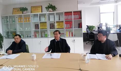 省农垦集团公司总经理韩正明到亚盛股份所属在兰企业调研指导工作